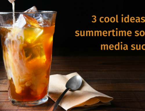 3 cool tips to reach your fans this summer (pun intended ;>)
